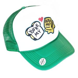 YOU'RE MY BUTTER HALF Austin TX Mural Trucker Hat